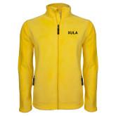 Fleece Full Zip Gold Jacket-XULA