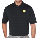 Callaway Horizontal Textured Black Polo-Primary Mark