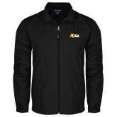 Full Zip Black Wind Jacket-XULA Wordmark