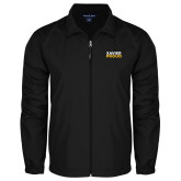 Full Zip Black Wind Jacket-Xavier Proud
