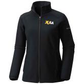 Columbia Ladies Sweet As Black Hooded Jacket-XULA Wordmark