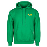 Kelly Green Fleece Hoodie-XULA Wordmark