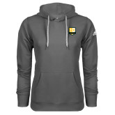 Adidas Climawarm Charcoal Team Issue Hoodie-Primary Mark