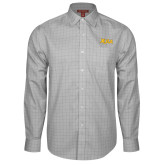 Red House Grey Plaid Long Sleeve Shirt-XULA Wordmark