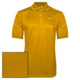 Gold Dry Mesh Polo-XULA Wordmark