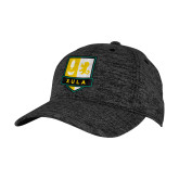 PosiCharge Charcoal/Black Electric Heather Snapback Hat-Primary Mark