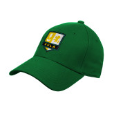 Kelly Green Heavyweight Twill Pro Style Hat-Primary Mark