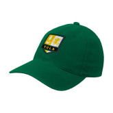 Kelly Green Flexfit Mid Profile Hat-Primary Mark