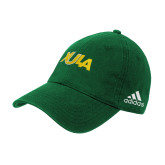 Adidas Kelly Green Slouch Unstructured Low Profile Hat-XULA Wordmark