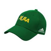 Adidas Kelly Green Structured Adjustable Hat-XULA Wordmark