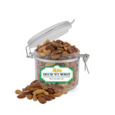 Deluxe Nut Medley Small Round Canister-XULA Wordmark