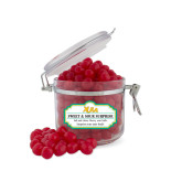 Sweet & Sour Cherry Surprise Small Round Canister-XULA Wordmark
