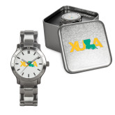 Mens Stainless Steel Fashion Watch-XULA with Louisiana Horizontal