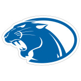 Extra Large Decal-Panther Head, 18 inches wide
