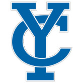 Extra Large Decal-Interlocking YC, 18 inches tall