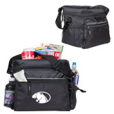All Sport Black Cooler-Panther Head