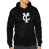 Adidas Black Team Issue Hoodie-Interlocking YC