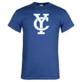 Royal T Shirt-Interlocking YC