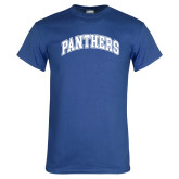 Royal T Shirt-Panthers Arched
