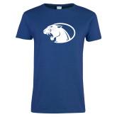 Ladies Royal T Shirt-Panther Head