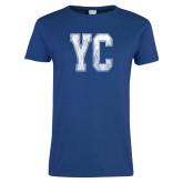 Ladies Royal T Shirt-YC Distressed