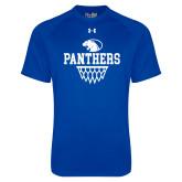 Under Armour Royal Tech Tee-Panthers Basketball