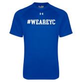 Under Armour Royal Tech Tee-Hashtag WeAreYC