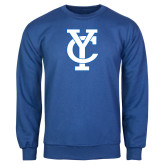 Royal Fleece Crew-Interlocking YC