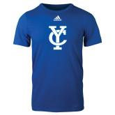 Adidas Royal Logo T Shirt-Interlocking YC