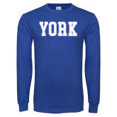 Royal Long Sleeve T Shirt-York
