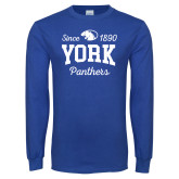 Royal Long Sleeve T Shirt-Established Date