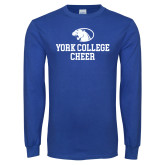 Royal Long Sleeve T Shirt-Cheer