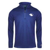 Russell Royal Heather 1/4 Zip-Panther Head