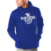 Under Armour Royal Armour Fleece Hoodie-Panthers Basketball