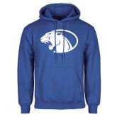 Royal Fleece Hoodie-Panther Head