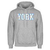 Grey Fleece Hoodie-York