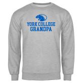Grey Fleece Crew-Grandpa