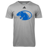 Adidas Climalite Sport Grey Ultimate Performance Tee-Panther Head