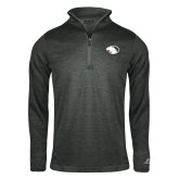 Russell Charcoal Heather 1/4 Zip-Panther Head