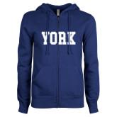 ENZA Ladies Royal Fleece Full Zip Hoodie-York