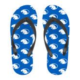 Full Color Flip Flops-Panther Head