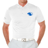 Callaway Opti Vent White Polo-Panther Head