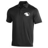 Under Armour Black Performance Polo-Panther Head