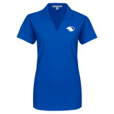 Ladies Royal Dry Zone Grid Polo-Panther Head