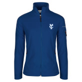 Columbia Ladies Full Zip Royal Fleece Jacket-Interlocking YC