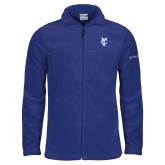 Columbia Full Zip Royal Fleece Jacket-Interlocking YC