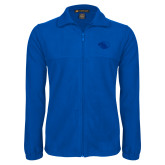 Fleece Full Zip Royal Jacket-Panther Head
