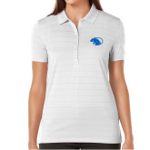 Ladies Callaway Opti Vent White Polo-Panther Head