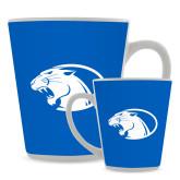 Full Color Latte Mug 12oz-Panther Head