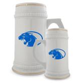 Full Color Decorative Ceramic Mug 22oz-Panther Head